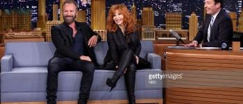 Mylène au Tonight Show